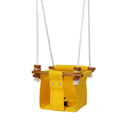 Solvej Swings Baby and Toddler Swing – Kowhai Yellow - Elenfhant