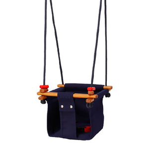 Baby Swing Schommel.Solvej Swings Baby And Toddler Swing Midnight Blue Elenfhant