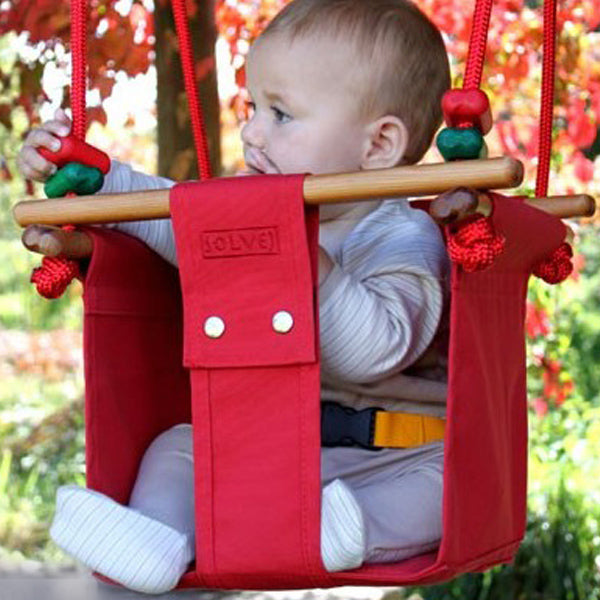 Swing Schommel Baby.Solvej Swings Baby And Toddler Swing Pohutukawa Red