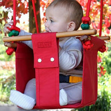 Solvej Swings Baby and Toddler Swing – Pohutukawa Red - Elenfhant