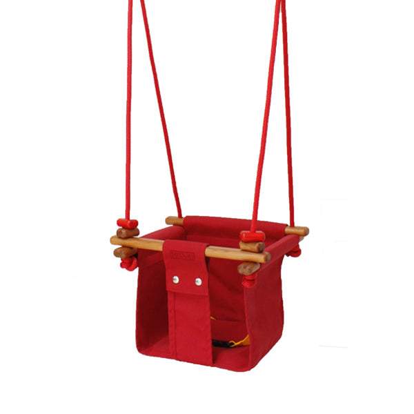 Solvej Swings Baby and Toddler Swing – Pohutukawa Red - Solvej Swings | Elenfhant