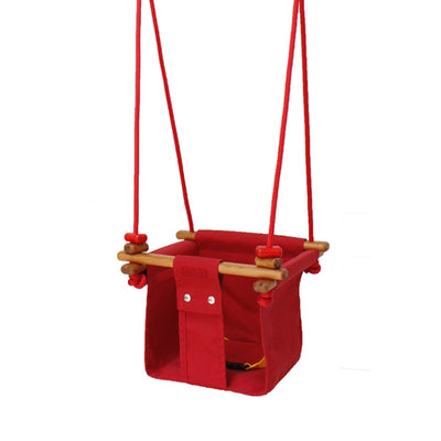 Solvej Swings Baby and Toddler Swing – Pohutukawa Red
