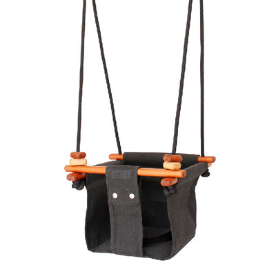 Solvej Swings Baby and Toddler Swing – Slate Grey