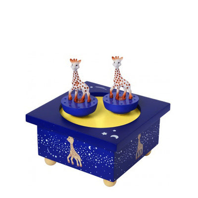 Trousselier Music Box Dancing Sophie the Giraffe - Milky Way