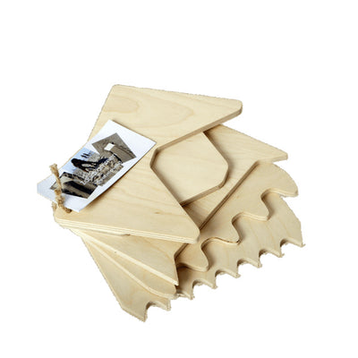 Speelbelovend Wooden Sand Combs - Set of 5