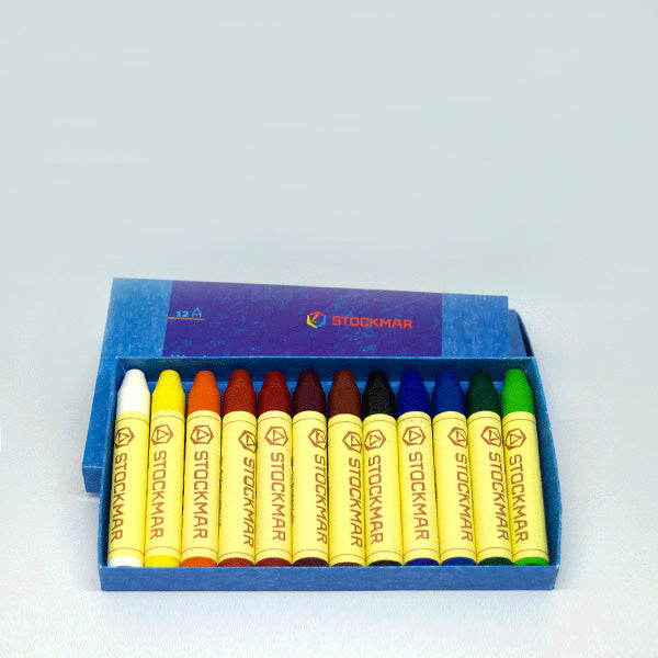 Stockmar Pure Beeswax Crayons - 12 Sticks