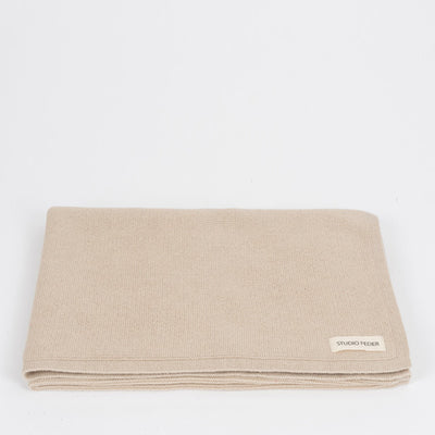 Studio Feder Baby Throw - Oat