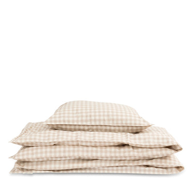 Studio Feder Bedding – Gingham Oat