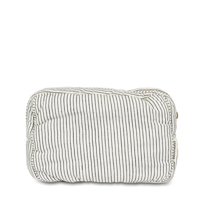 Studio Feder Toiletry Bag – Black Pin Stripe