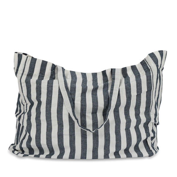 Studio Feder Tote Bag - Wide Stripe Navy