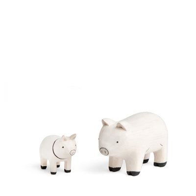 T-Lab Pole Pole Animal – Family Set Pig