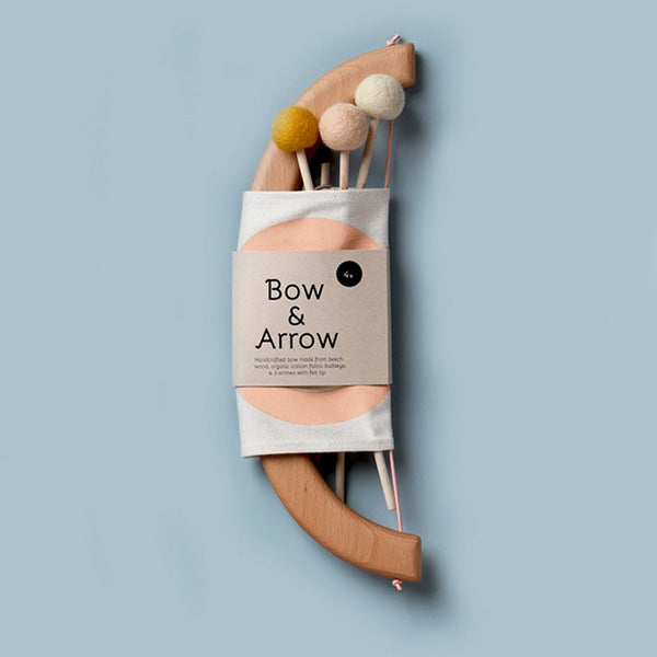 Tangerine Studio Bow & Arrow Set – Peach