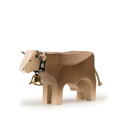 Trauffer Cow 2 Standing - Brown Swiss