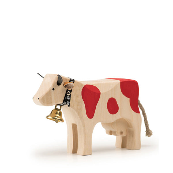 Trauffer Cow 2 Standing - Red