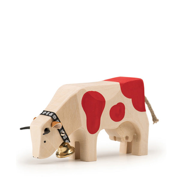Trauffer Cow 2 Eating - Red