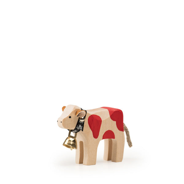 Trauffer Calf with Bell - Red