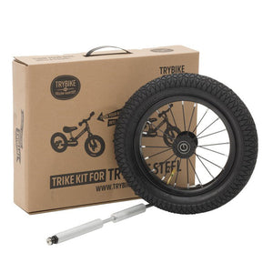 Trybike Trike Set for the Trybike Steel - Black