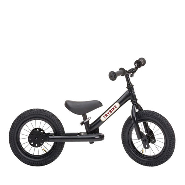 Trybike Balance Bike Steel - All Black