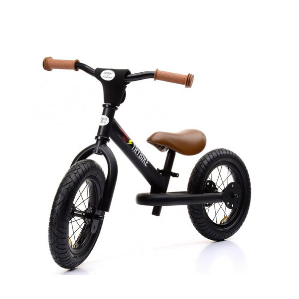 Trybike Balance Bike Steel - Black