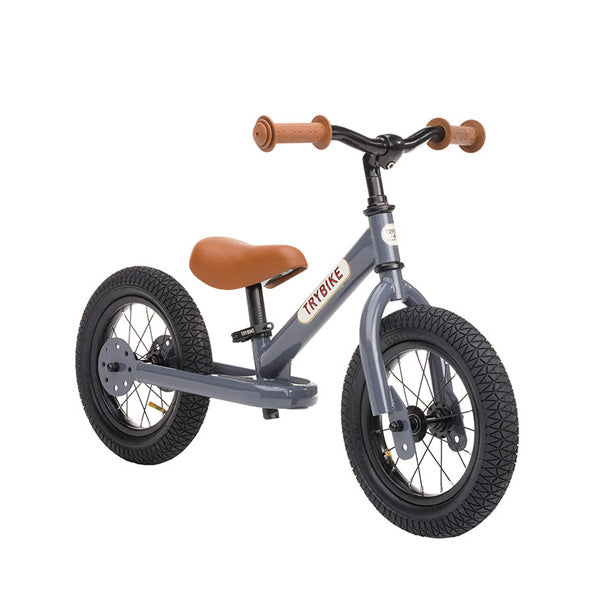 Trybike Balance Bike Steel - Grey