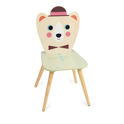 Vilac Ingela P. Arrhenius - Bear with Hat Chair