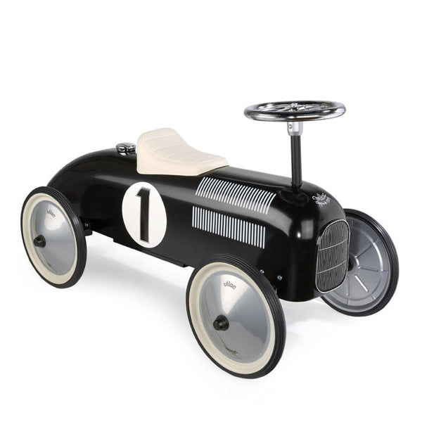 Vilac Classic Ride On Metal Car – Black