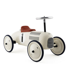 Vilac Classic Ride On Metal Car - Pearly White