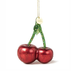 Vondels Glass Shaped Christmas Ornament - Cherry