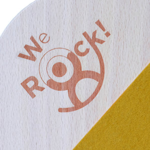 We Rock! Balance Board Moon – Lacquered Stepped