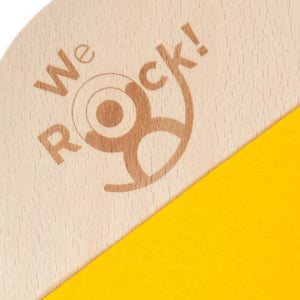We Rock! Balance Board Classic - Lacquered Stepped - We Rock! | Elenfhant