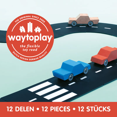 Waytoplay Flexible Toy Road – Ringroad 12 pieces