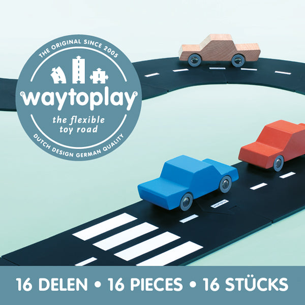Waytoplay Flexible Toy Road – Expressway 16 pieces