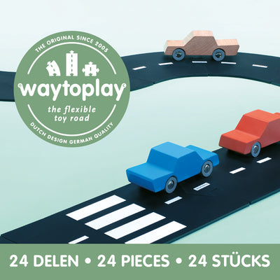 Waytoplay Flexible Toy Road – Highway 24 pieces