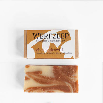 Werfzeep Soap Bar - Chocolate Swirl