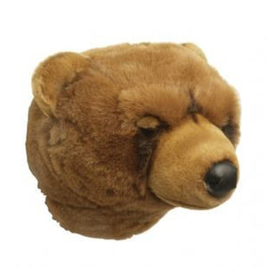 Wild and Soft Animal Head – Grizzly Bear Oliver