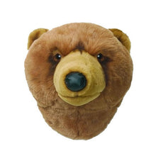 Wild and Soft wall decoration animal head grizzly bear Oliver