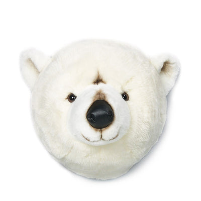 Wild and Soft wall decoration animal head polar bear Basile