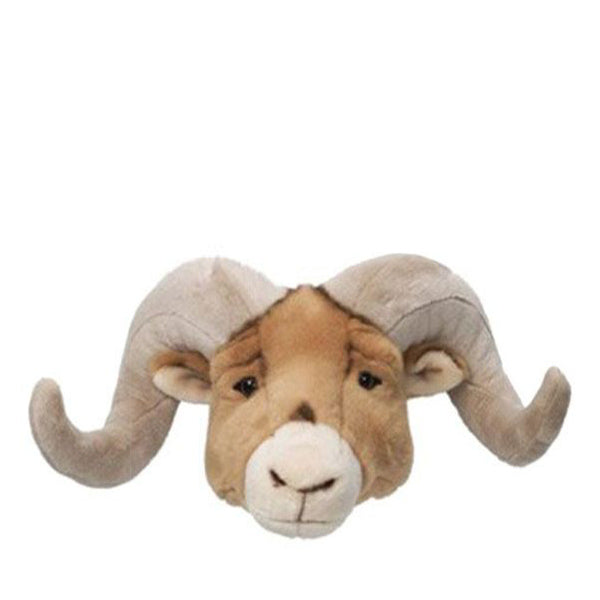 Wild and Soft Animal Head – Ram Anthony