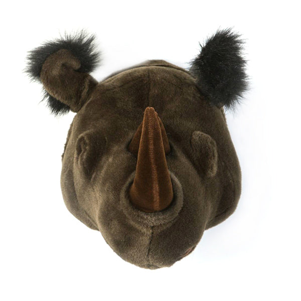 Wild and Soft Animal Head – Rhino Michael