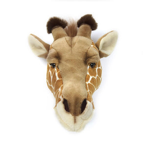 Wild and Soft wall decoration animal head giraffe Ruby