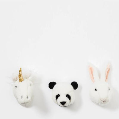 Wild and Soft Mini Animal Heads – Lovely Gift Box