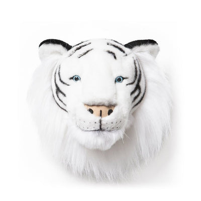 Wild and Soft wall decoration animal head white tiger Albert