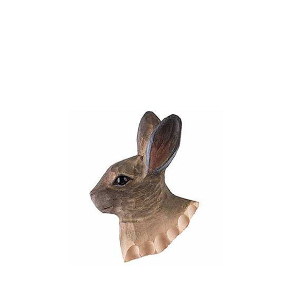 Wildlife Garden Hand Carved Animal Magnet - Mountain Hare