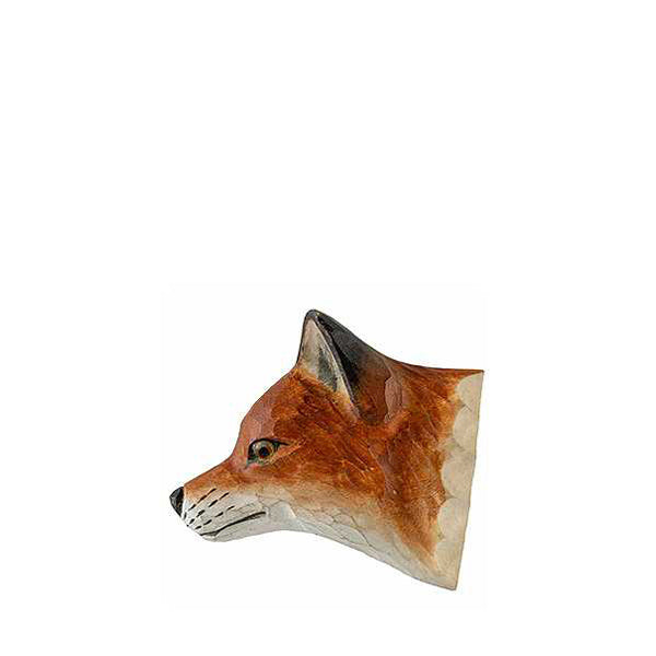 Wildlife Garden Hand Carved Animal Magnet - Red Fox