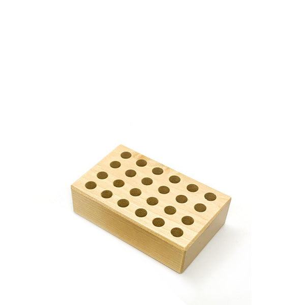 Wooden Holder for Regular Pencils - 24 Holes