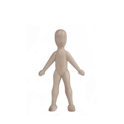 Wooden Story Lala Wooden Doll - Beech