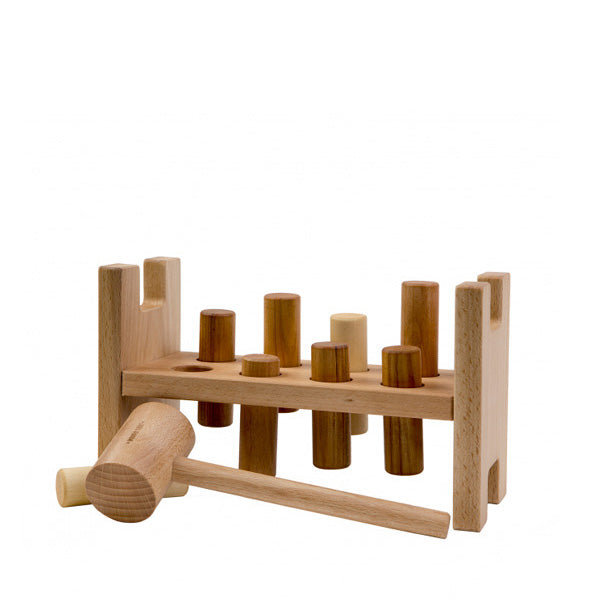 Wooden Story Pound A Peg – Natural