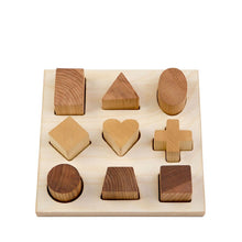 Wooden Story Shape Puzzle – Natural