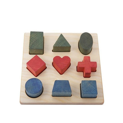 Wooden Story Shape Puzzle – Rainbow