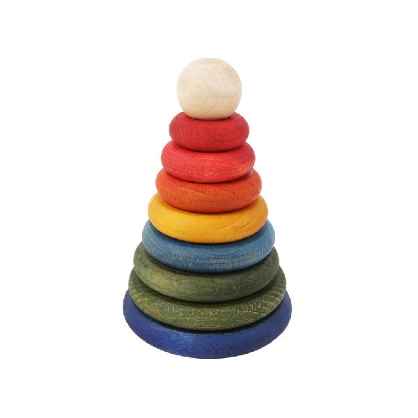 Wooden Story Stacker – Rainbow